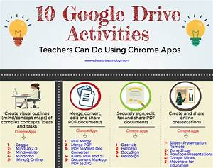 10 Google Drive Activities Teachers Can Do Using Chrome
