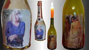 Papier Auf Glas Kleben : fototransfer auf glas geschenk flasche mit gru karte anleitung f r acryllack youtube ~ Watch28wear.com Haus und Dekorationen