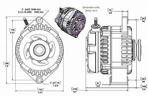 170 Amp High Output Marine Alternator For Late Model Gm Ls