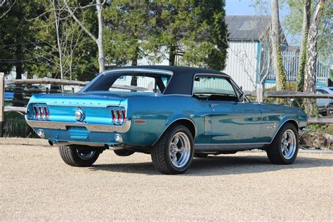 68 Ford Mustang by 68 Ford Mustang Gt Coupe Pilgrim Motorsports