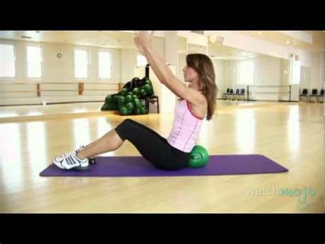 great abs   bender ball workout youtube
