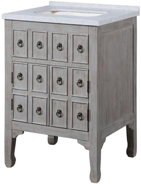 single sink bathroom vanity   distressed gray