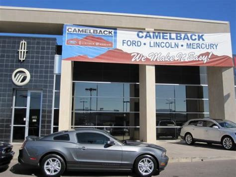 Camelback Ford car dealership in Phoenix, AZ 85014