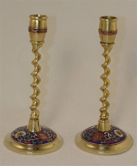 candlestick ls for sale pair of chinese brass candlesticks for sale antiques com