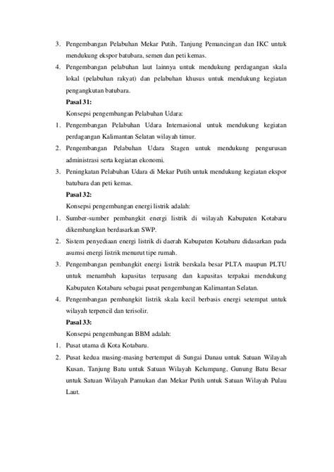 Kapupaten Kota Baru Kalimantan Selatan