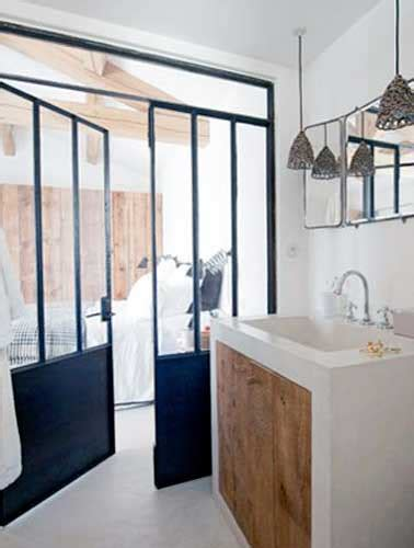 cloison separation chambre 5 façons de séparer la salle de bain dans une suite parentale