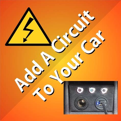 Can I Add An Auxiliary To My Car by How To Add A Circuit To Your Car