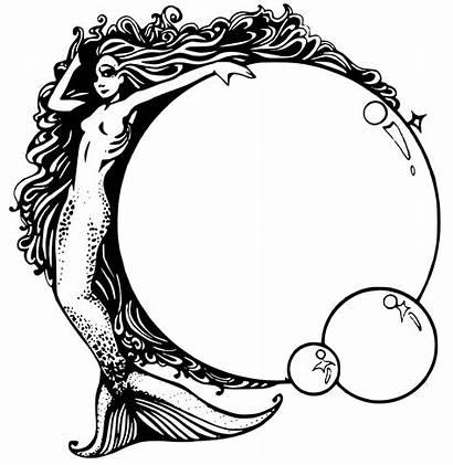 Mermaid Bubbles Clip Svg Onlinelabels