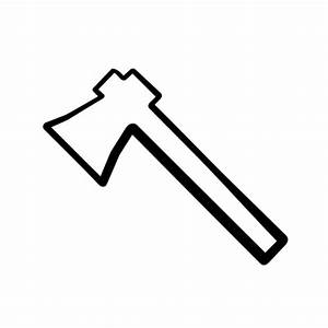 Simple Shaped Ax (Axe) Icon #115128 » Icons Etc