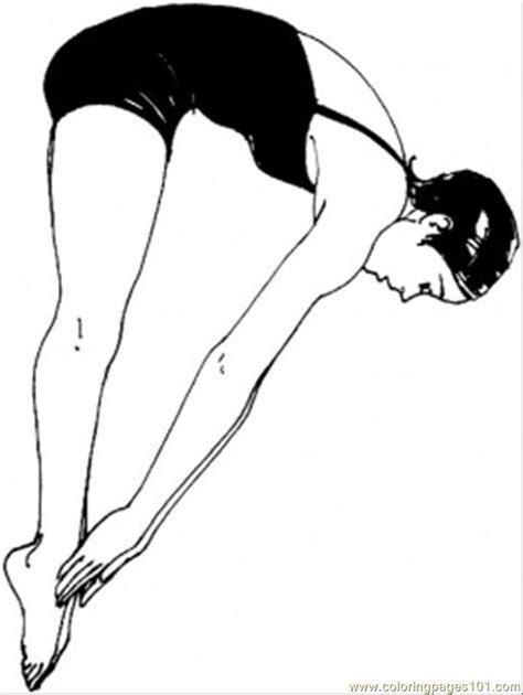 woman swimmer coloring page  swimming coloring pages coloringpagescom
