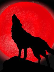 wolf howls 4 the red moon