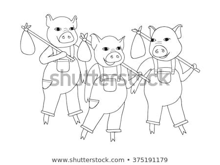 Three Little Pigs Stock Images Royalty Free Images