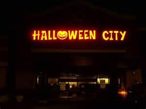 Halloween City Store