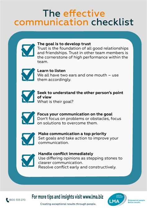 effective communication tips guides lma nz