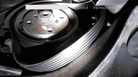 serpentine belt replacement   volvo  install