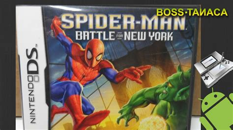 spider man battle   york  nintendo ds gameplay