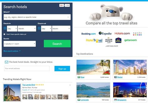 Best Booking Site Top 10 Worldwide Hotels Booking And Comparison Websites