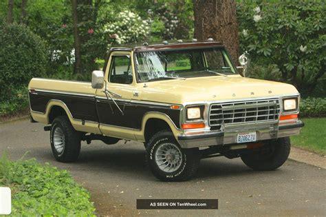 1978 ford f 150 ranger xlt 4x4 95k