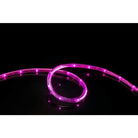 meilo 16 ft pink all occasion indoor outdoor led rope