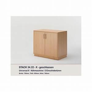 Meuble Deux Portes : meuble rangement machine coudre ou surjeteuse stack deux portes rauschenberger europ 39 distri ~ Teatrodelosmanantiales.com Idées de Décoration