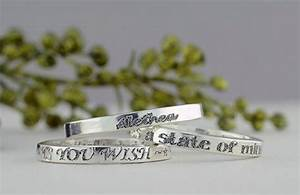 Custom Engraved Ring, 2.5mm, Sterling Silver Ring ...
