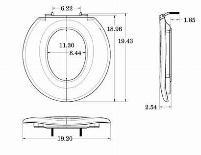 Seat Dimensions Toilet Ada Handicap Extra Wide