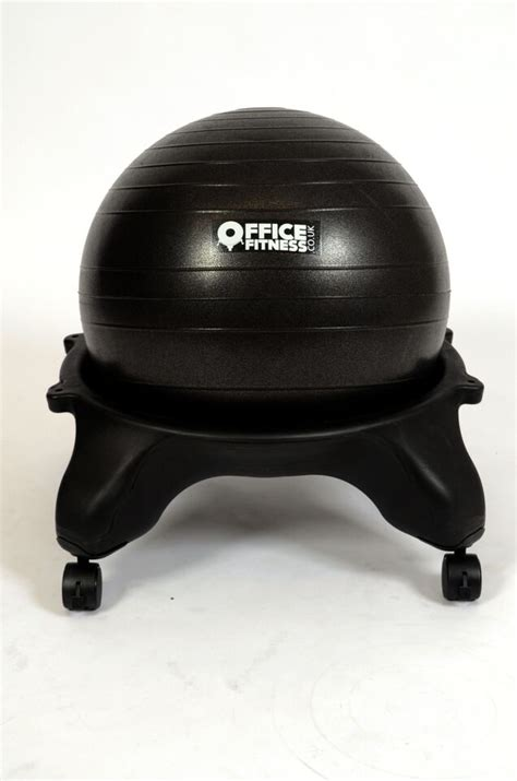 Chaise Ballon Exercice by Office Fitness Exercise Ball Chair With Free Ball Cosy Ebay