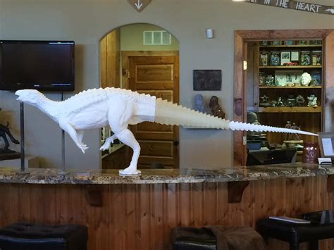 printing full sized dinosaurs   museum