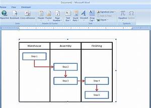 How To Embed An Excel Flowchart In Microsoft Word