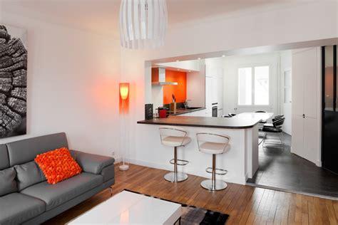 ouverture cuisine sur salon ouverture cuisine salon with ouverture cuisine salon