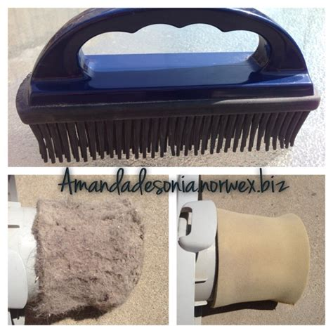 Removing Hair From Car Upholstery by Norwex Rubber Brush Remove Pet Hair From Furniture And
