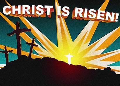 Easter Risen Christ Christian Religious Clipart Jesus