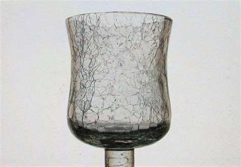 home interiors candle holders home interiors peg votive candle holder crackle glass 4 25