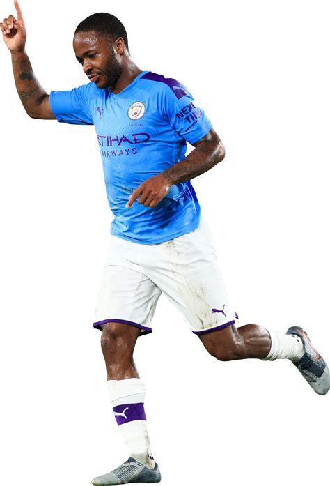 Raheem shaquille sterling (born 8 december 1994) is an english professional footballer who plays as a winger and attacking midfielder for premier league club manchester city and the england national. Raheem Sterling football render - 56819 - FootyRenders