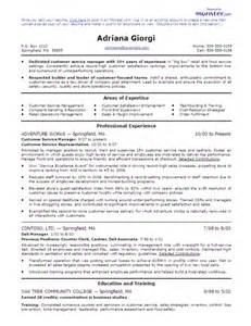 9 experience for customer service resume financial