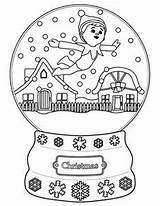 Coloring Pages Christmas Elf Shelf Printable Sheets sketch template