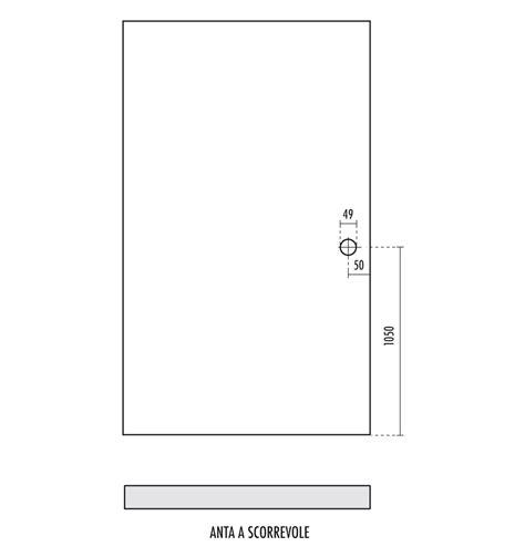 Misure Porta Scorrevole by Dimensioni Porte Scorrevoli