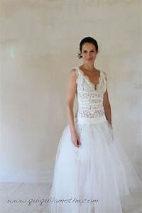 robe de mariee transformable simple jupe en tulle a With robe simple mariage
