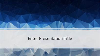 Powerpoint Template Templates Poly Low Presentation Point