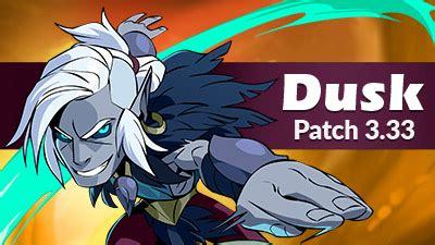 legend weapon dusk wielding orb patch