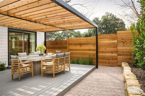 garten terrasse aus holz 29 fabelhafte ideen f 252 r terrassen 252 berdachung aus holz im