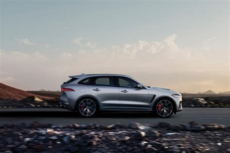 Jaguar Fpace Gets The Svr Treatment, With 550hp On Tap