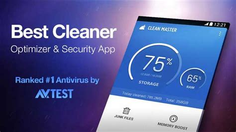 cleaner  optimizer app  android smartphones