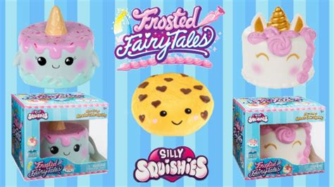 silly squishies frosted fairy tales slow rising