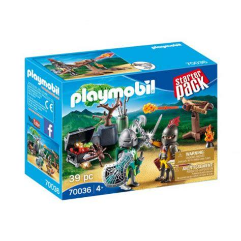 70036 PLAYMOBIL® Starter Pack Bruņinieku cīņa, no 4+ 70036 ...