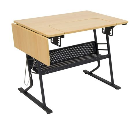 eclipse hobby sewing table  black maple item