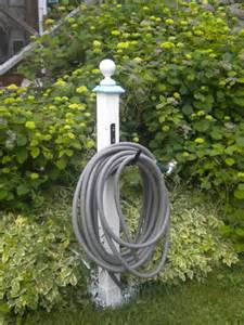 DIY Garden Hose Hanger