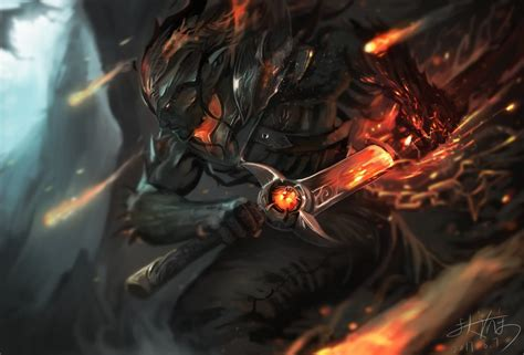 nightbringer yasuo lol wallpapers