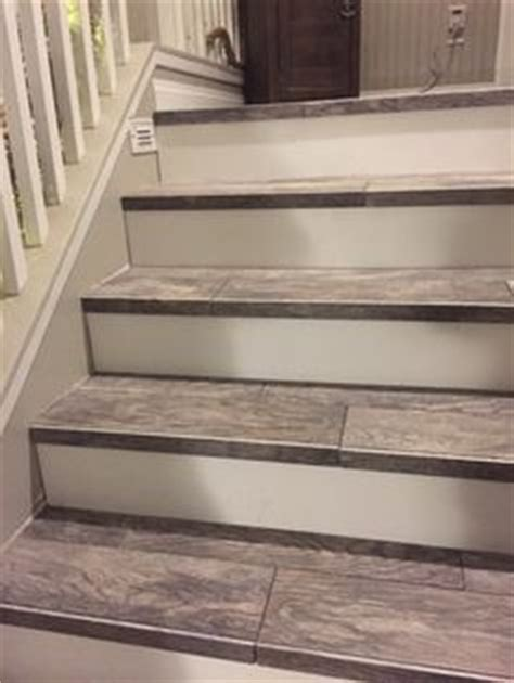 Types Of Floor Covering For Stairs by 25 Best Ideas About Tile Stairs On My Custom
