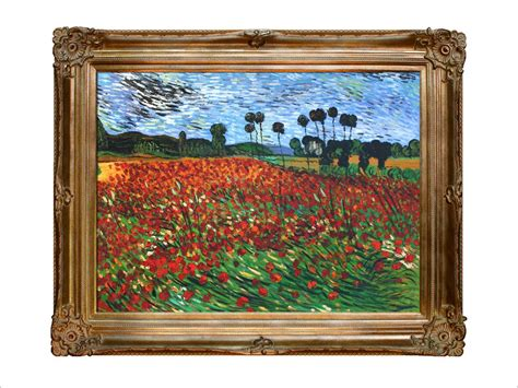 framed canvas sale reproduction painting gogh paintings field